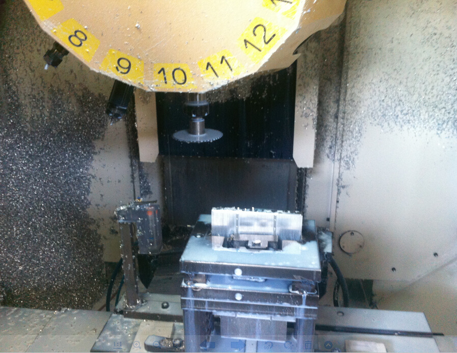 Multi Axis Milling Machine