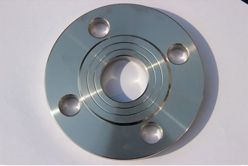 Custom CNC machine stainless steel flange