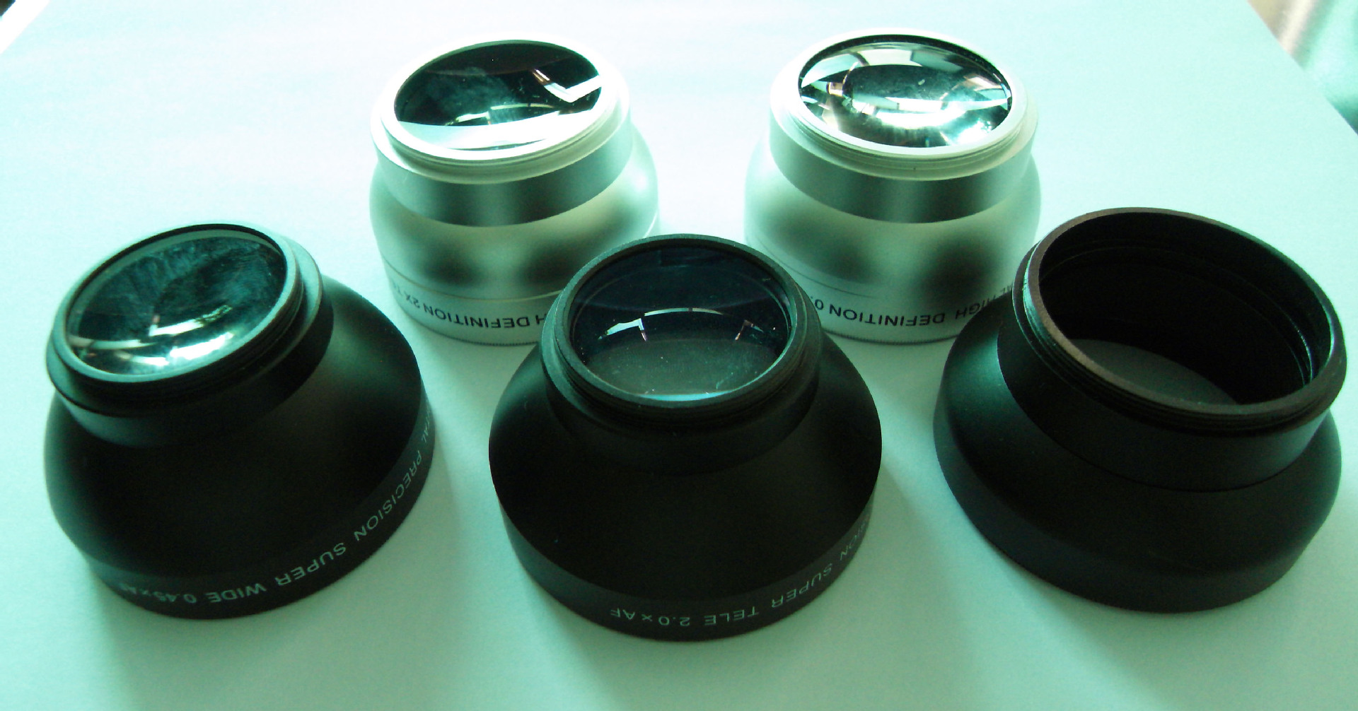 Customs CNC machined camera lens - Jack Power Model