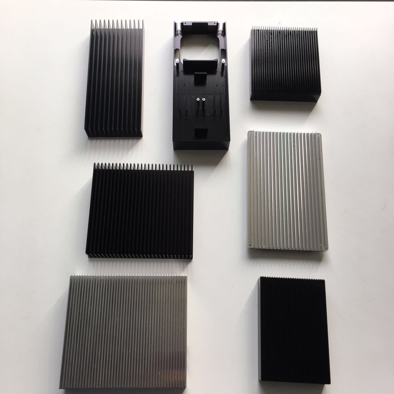 CNC machined Heat Sink Aluminum Housing
