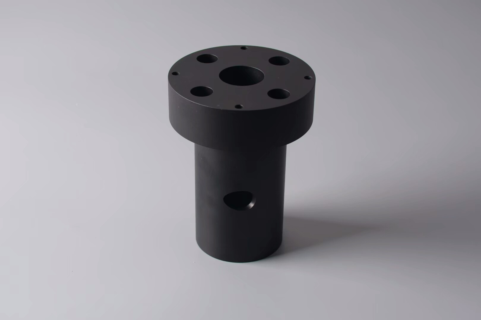 6061 part with Hard coat Black Anodized